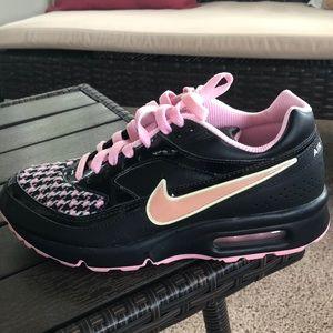 Pink plaid Nike Air Maxes